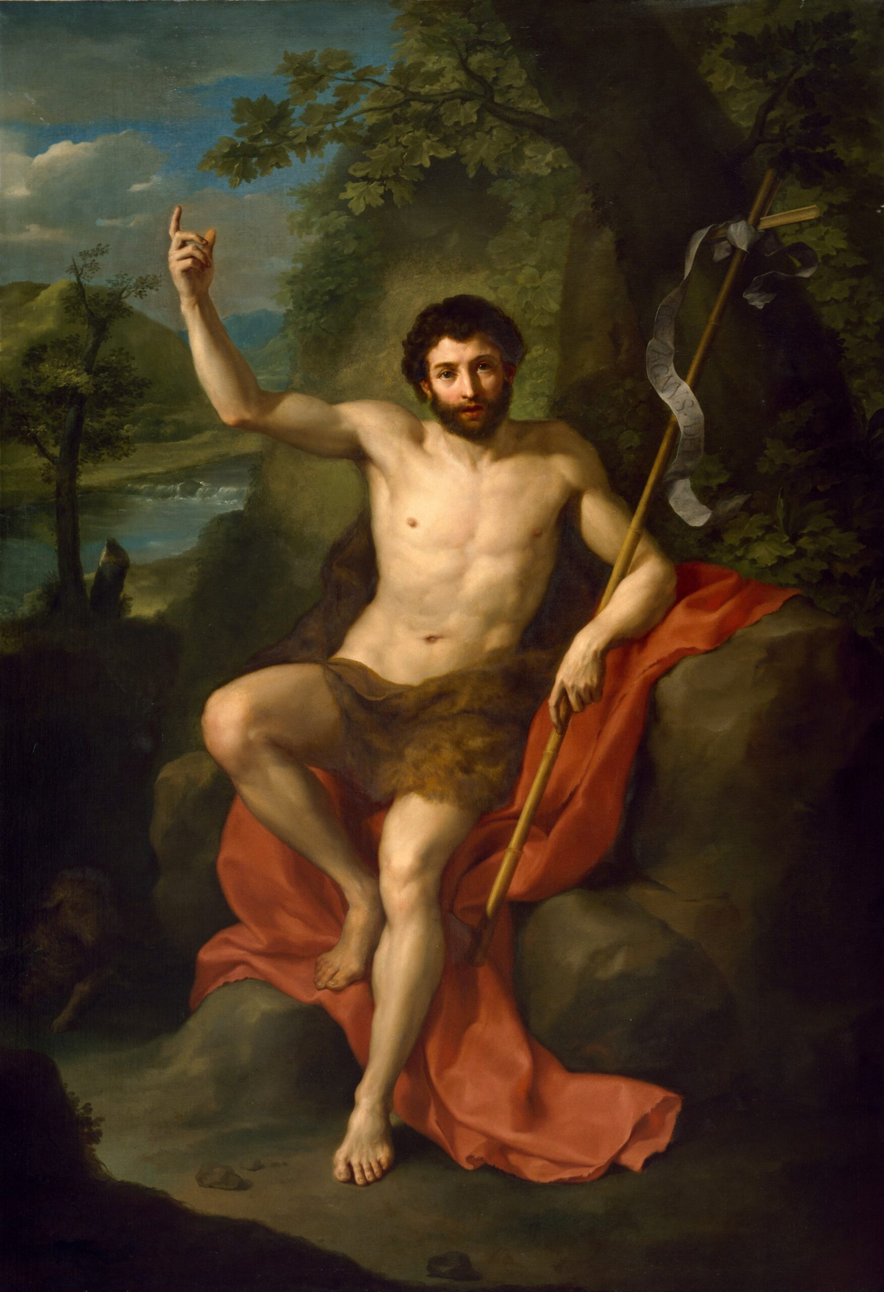 anton raphael mengs   st. john the baptist preaching in the wilderness scaled